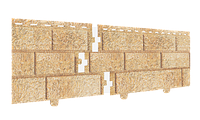 Сайдинг Stone house кирпич песочный