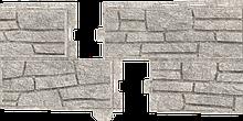 Сайдинг Stone house сланец светло - серый