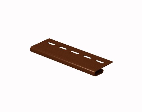Завершающая планка коричневая