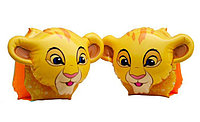 Intex Надувные нарукавники Disney Deluxe - КОРОЛЬ ЛЕВ 25х23 см, от 3 до 6 лет, фото 1