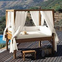 Пошив для беседок:шторы, матрасы, подушки