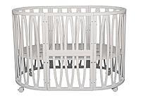 Кроватка-трансформер Incanto Estel Acqua 10 в 1 Белый, фото 1