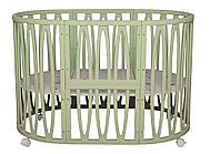 Кроватка трансформер Incanto Estel Acqua 10 в 1