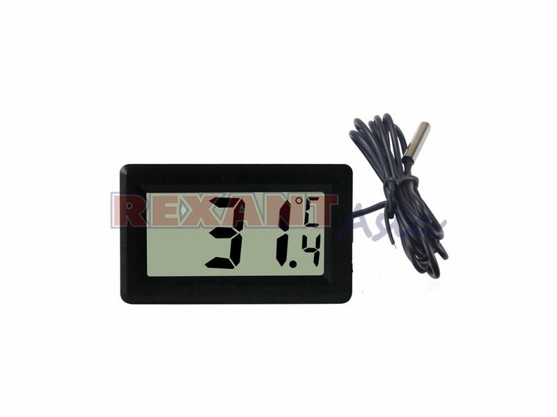 Термометр электронный с дистанционным датчиком измерения температуры REXANT, (70-0501 )