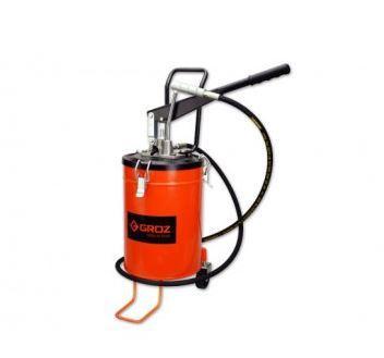 GR44281 - VGP-10A Ручной нагнетатель смазки, 275 атм., емкость 10 кг переносной, 4-9гр/ход