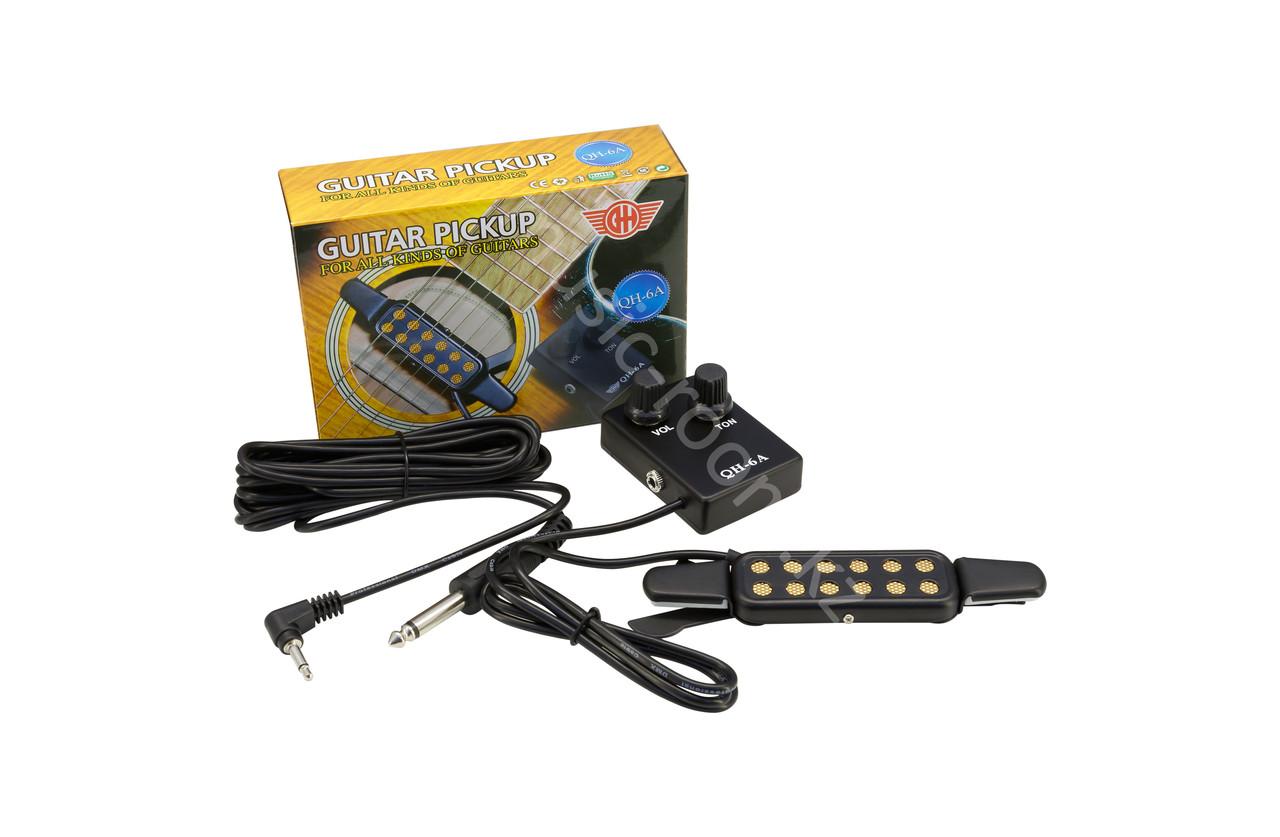 Звукосниматель с регулировкой громкости и тона Guitar Pickup QH-6A