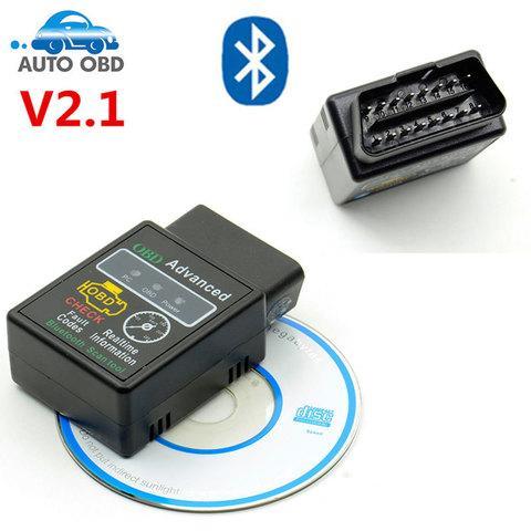 Адаптер OBD ADVANCED для диагностики автомобилей ELM327 Bluetooth (v2.1)
