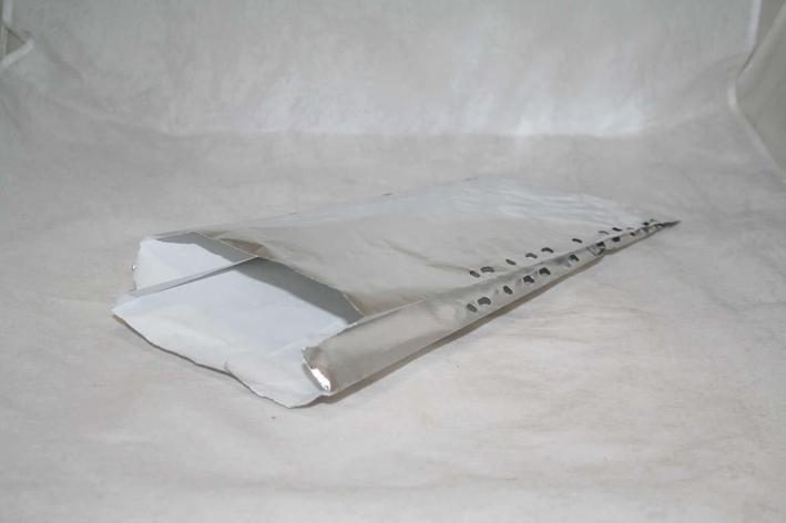 Пакет бум.фольгирован., с перфорацией (170+60)х400мм., 1000 шт, фото 2