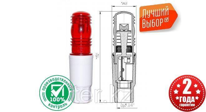 Заградительный огонь «ЗОМ-1»  >10cd, тип «А», 30-265V AC/DC, IP65, фото 2