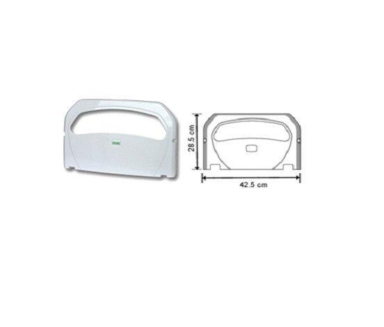 Диспенсер для одноразовых гигиенич. покрытий на унитаз, белый