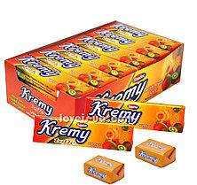 Жевательная конфета Тропик Kremy toffe Saadet (24шт - упак)