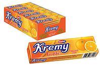 Жевательная конфета Апельсин Kremy toffe Saadet (24шт - упак)