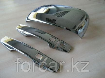 Накладки на ручки (хром) Mitsubishi  Outlander 2007, фото 2