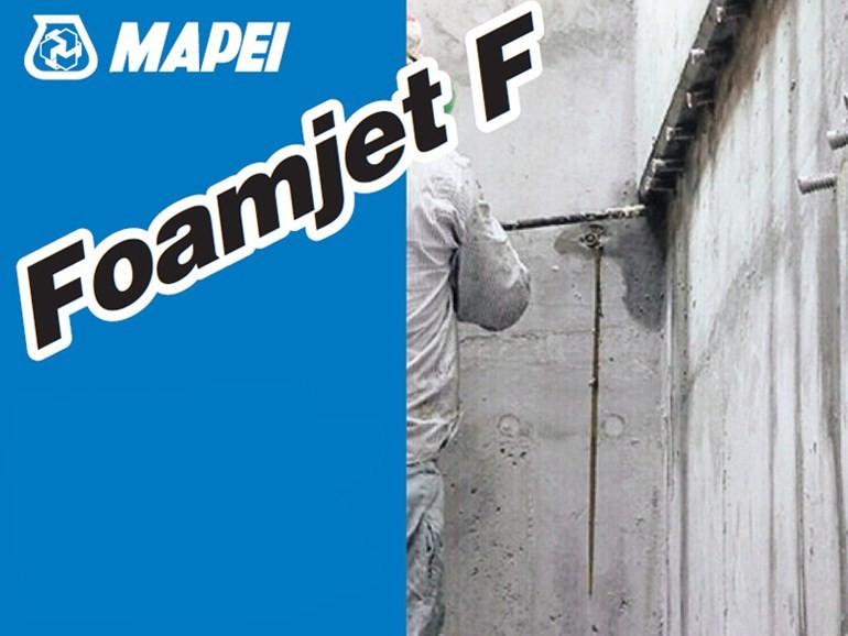Foamjet F двухкомпонентная полиуретановая пена
