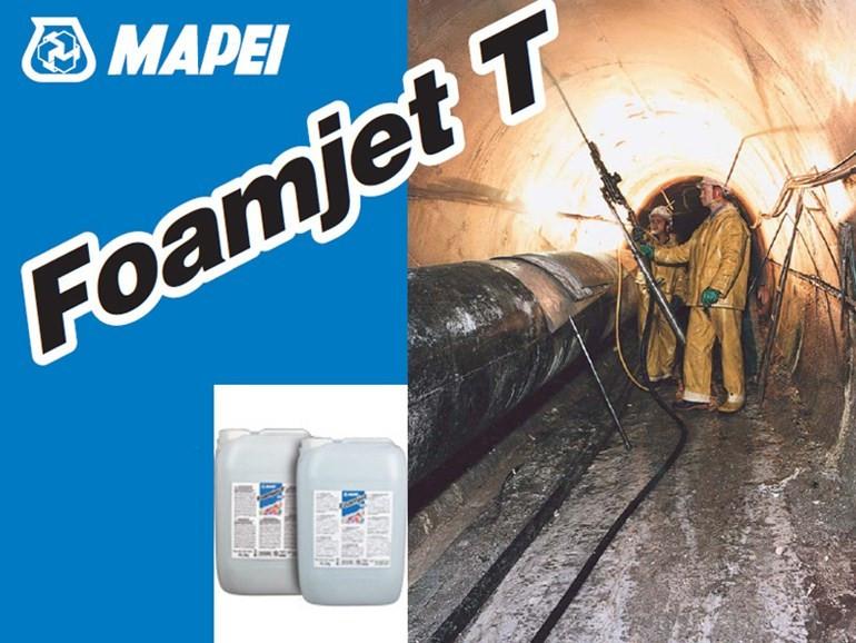 FOAMJET T двухкомпонентная полиуретановая пена