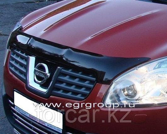027181 Дефлектор капота EGR темный Nissan Qashqai 2007-2009, фото 2