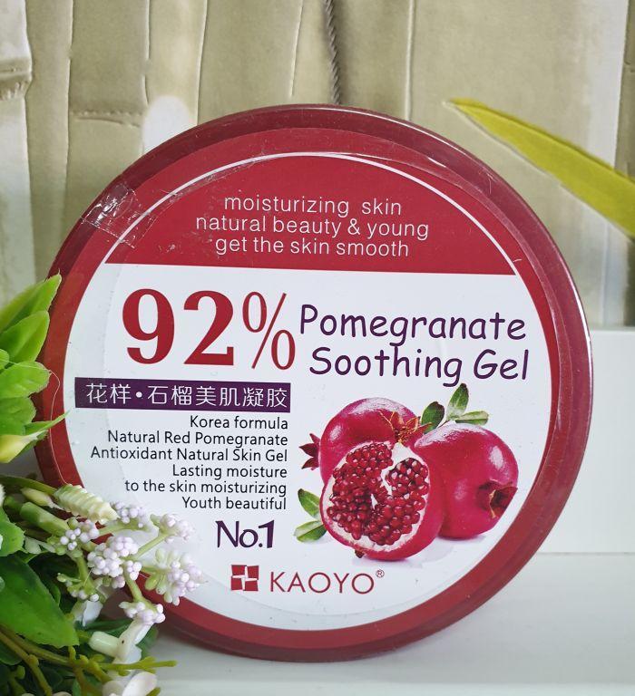 Kaoyo 92 % - Гранатовый успокаивающий гель