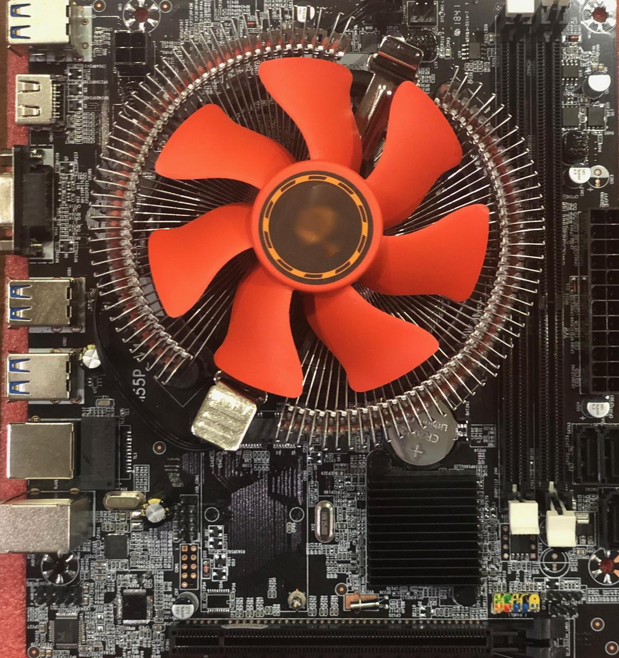 Материнская плата со Процессором Intel® Core™ i3-380M