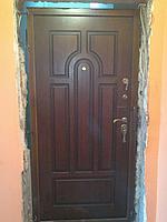 Двери с накладкой из МДФ на заказ