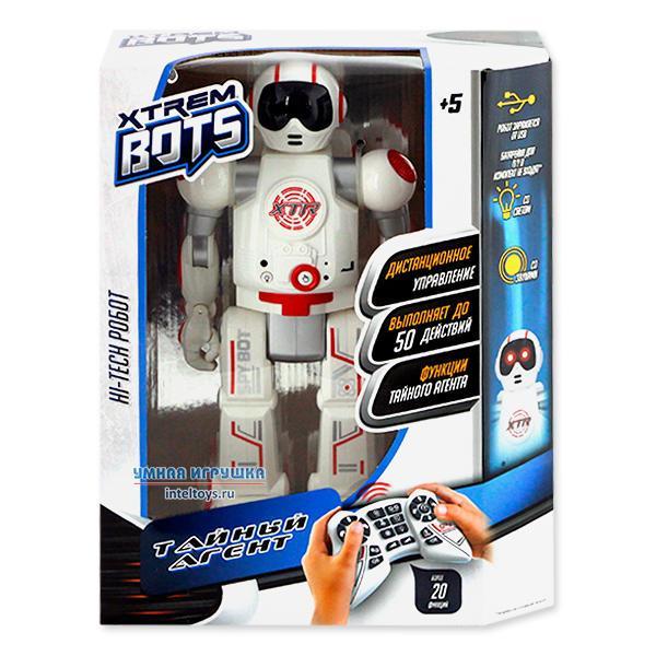 Робот интерактивный «Агент Xtrem Bots», Longshore Ltd
