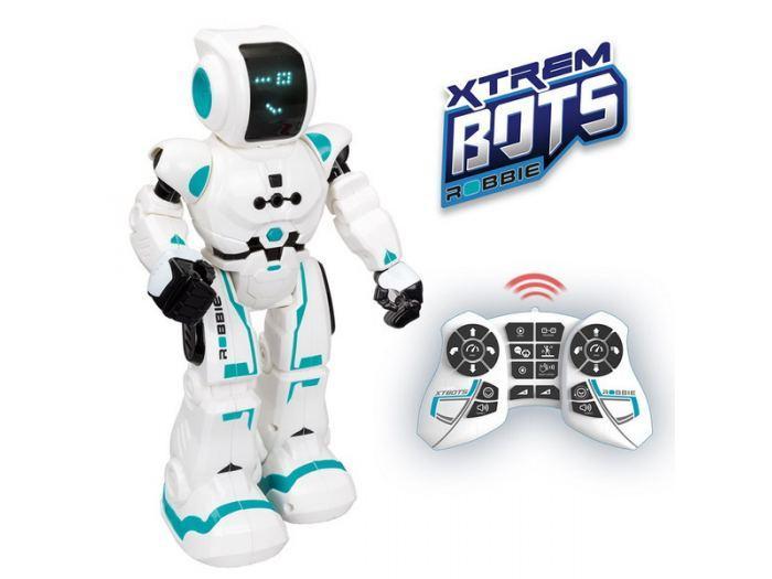 """Робот интерактивный  """"Xtrem Bots Напарник"""" световые звуковые эффекты"""