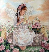 """Набор для вышивания крестом """"Любовь и забота"""""""