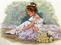 """Набор для вышивания крестом """"Маленькая танцовщица"""""""