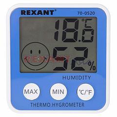 Метеостанция комнатная RX-108 REXANT, (70-0520 )