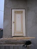Двери входные глухие на заказ