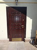 Двери с накладкой МДФ утепленные