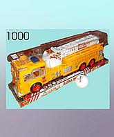 Инерционная машина,  пластмассовая, автолестница, пожарная машина.
