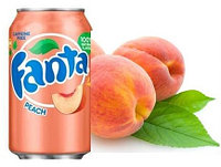 Fanta peach персик 355ml США (12шт-упак)