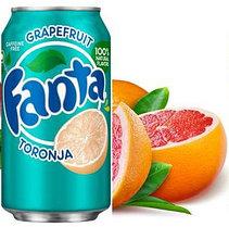 Fanta  Toronja грейпфрут 355ml США (12шт-упак)
