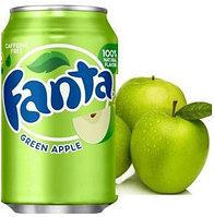 Fanta Green Apple Зеленое сочное яблоко 355ml США (12шт-упак)