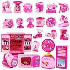 Детская игрушечная кухня и бытовая техника