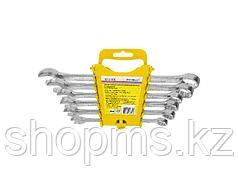Набор гаечных комбинированных ключей Remocolor, углеродистая сталь, 6 предметов 43-2-506