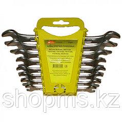 Набор гаечных рожковых ключей Remocolor, углеродистая сталь, 8 предметов 43-2-518