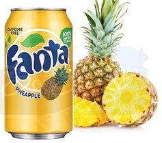 Fanta Pineapple  Ананас 355ml США (12шт-упак)