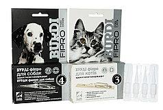 Капли инсекто-акарицидные Бурди Фипро для кошек и собак