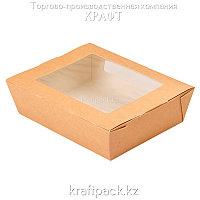 Ланчбокс с окном 1000мл 190*150*50 (Eco Salad 1000) DoEco (50/200)