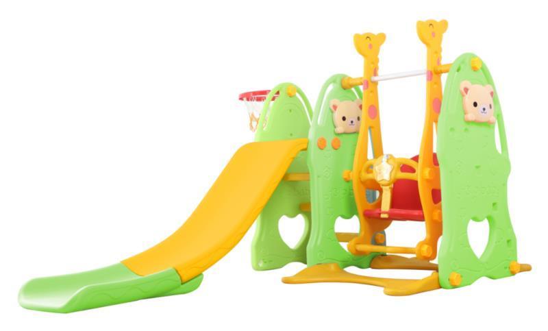 Детский игровой комплекс - горка и качели