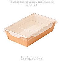 Контейнер, салатник с прозрачной крышкой 800мл 186*106*55 (Eco Opsalad 800) DoEco (50/200)
