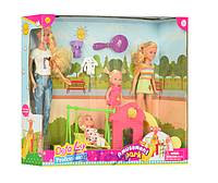"""Кукла Lucy """"В парке"""" аксесс. 5 предм."""
