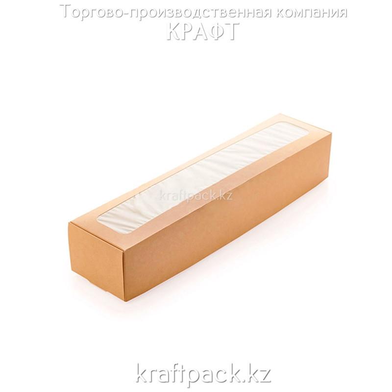Короб универсальный с окном 350*80*60 (Eco Unibox) DoEco (50/300)
