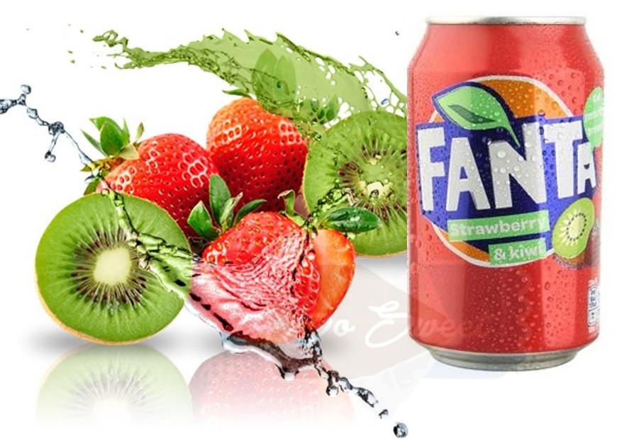 Fanta Strawberry & Kiwi 330ml Дания
