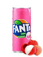 Fanta Lychee Личи 330 ml (24шт-упак)