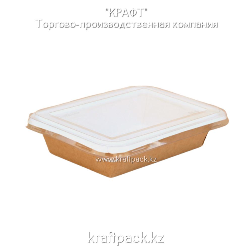 Контейнер, с прозрачной крышкой 500мл 140*105*45 (Eco Seal Salad 500) DoEco (50/400)