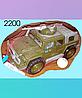 Инерционная машина,  хамер, танк, военная, пластмассовая, Полесье.