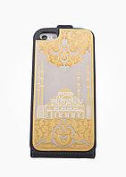 """Чехол для iPhone с накладкой """"Сердце Чеченской Республики"""" Златоуст"""