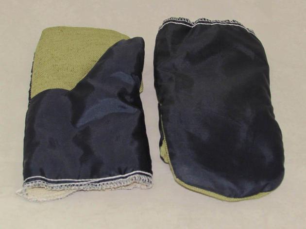 Рукавицы х/б с брезентовыми наладонниками утепленные на ватине, фото 2